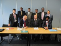 Jas Parmar and other NABA Directors meeting with Business Secretary Vince Cable